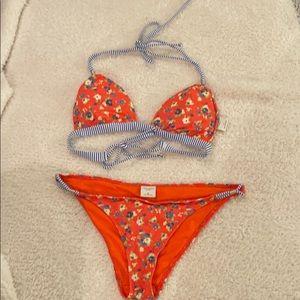 Gilly Hicks Flower Bikini